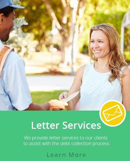 Accounts Receivable Management - Letter Services